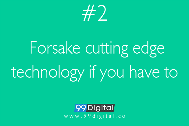 forsake cutting edge technology_99digital