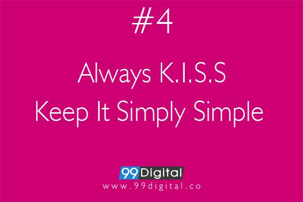 keep it simply simple _ 99digital