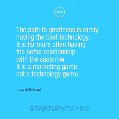startup vitamin poster: The Path to greatness..